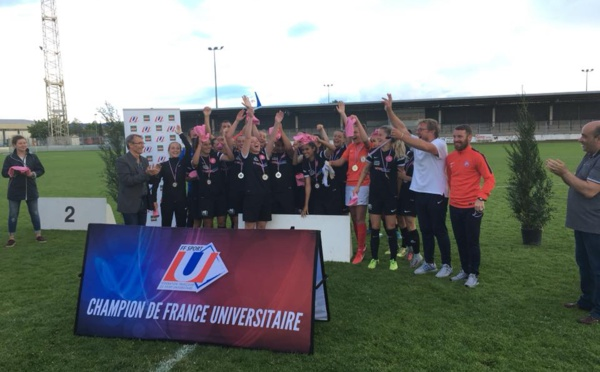 Universitaire - MONTPELLIER champion de France