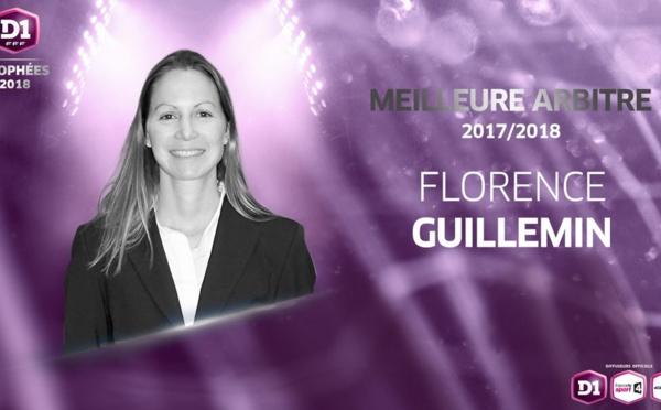 #D1F - Florence GUILLEMIN en tête du classement des arbitres