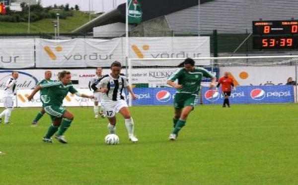 Carton de Juvisy en Ligue des Champions : 12-0
