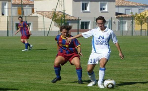 Amical : Montpellier et le FC Barcelone se neutralisent