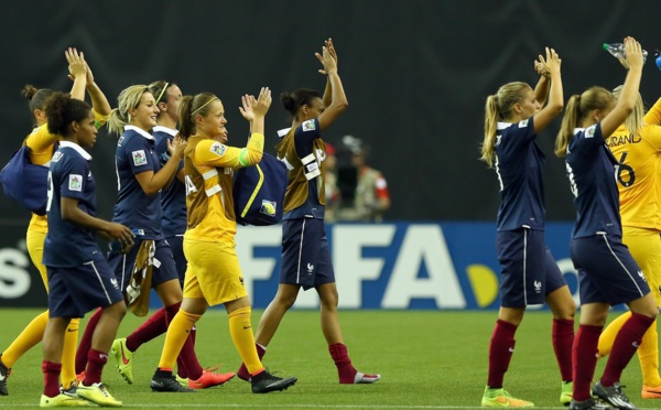 Coupe du Monde U20 - 2014, le premier podium