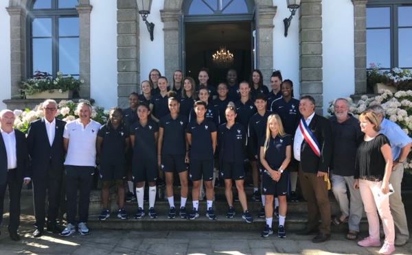 Coupe du Monde U20 - Les Bleuettes peaufinent à Ploërmel