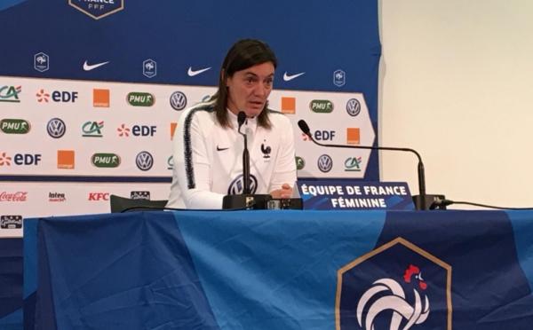 """Bleues - Corinne DIACRE : """"Il faut imaginer un plan B"""""""