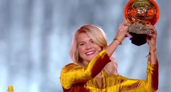 Ballon d'Or féminin FF 2018 - Ada Hegerberg (Olympique Lyonnais) sacrée, Henry et Renard 7es