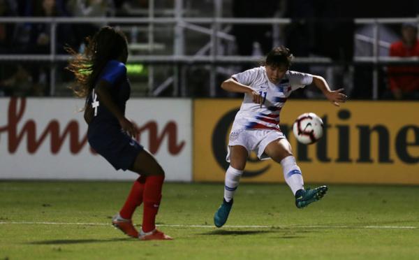 U19 - Victoire face aux USA pour débuter le tournoi américain