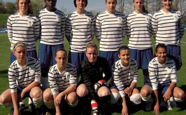 U17 : les Françaises s'imposent 4-1 face à l'Ecosse