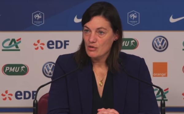 """Bleues - Corinne DIACRE : """"Continuer à avancer progressivement"""""""