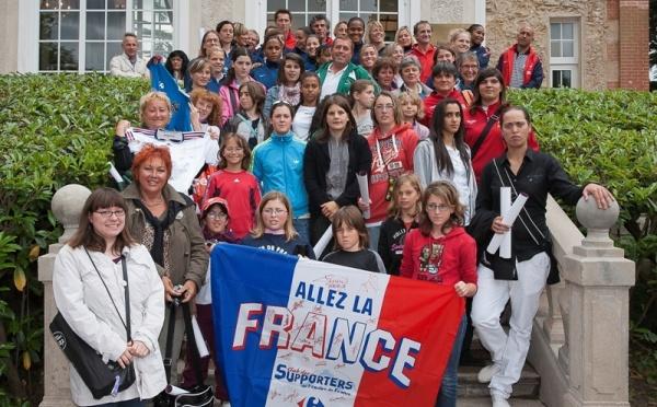 """""""Les Elles des Bleus"""" à la rencontre des Bleues"""