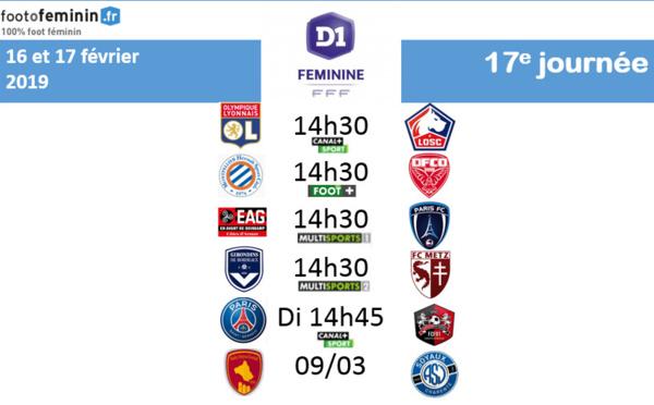 #D1F - J17 : le programme