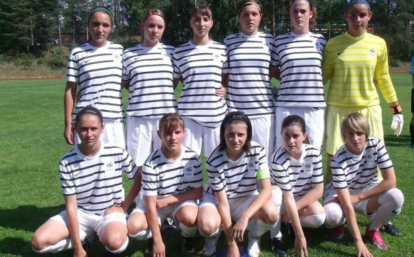 La sélection U16 en finale de la Nordic Cup