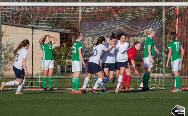 Turkish Women's Cup - La FRANCE dispose de l'IRLANDE DU NORD au finish