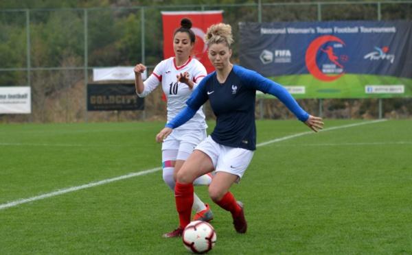 Turkish Women's Cup - J3 : la FRANCE écrase la JORDANIE et file en finale