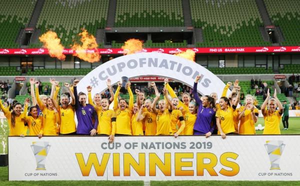 Cup of Nations - L'AUSTRALIE maître à domicile
