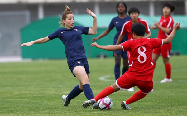 Sud Ladies Cup - La FRANCE s'impose aux tirs au but face à la COREE DU NORD