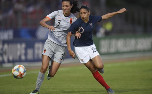 Bleues - FRANCE - CHINE : le match en photos