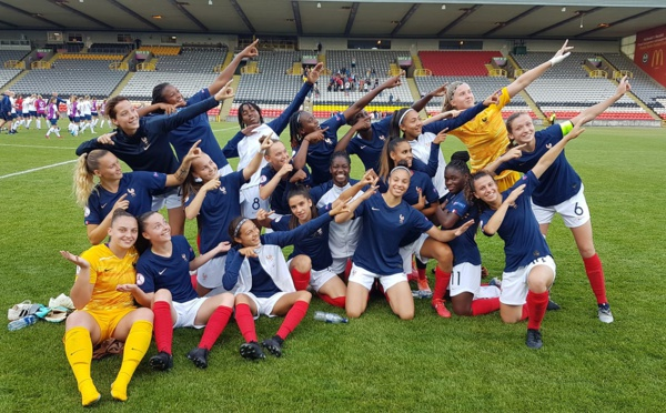 Euro U19 - La FRANCE concède le nul, mais se qualifie pour les demies et la Coupe du Monde U20