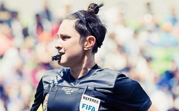 Arbitrage - Kate JACEWICZ officiera en D1 masculine australienne