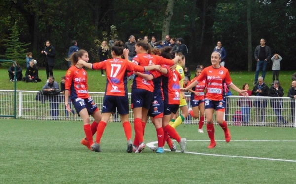 #D2F - J6 : Groupe A : ISSY et BREST s'imposent