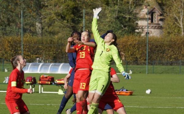 U19 - La FRANCE et la BELGIQUE dos à dos