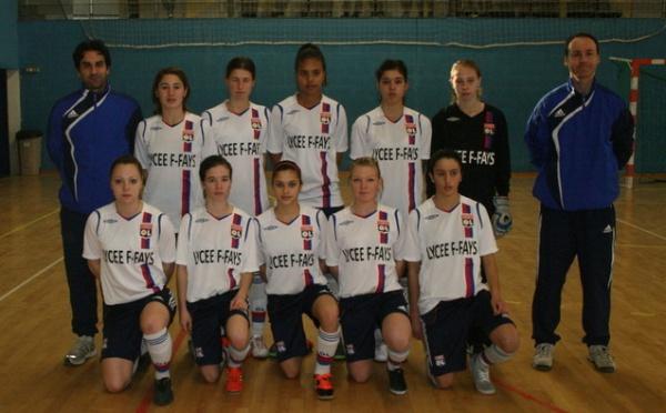 Championnats du Monde scolaires futsal - VILLEURBANNE remporte le titre mondial !