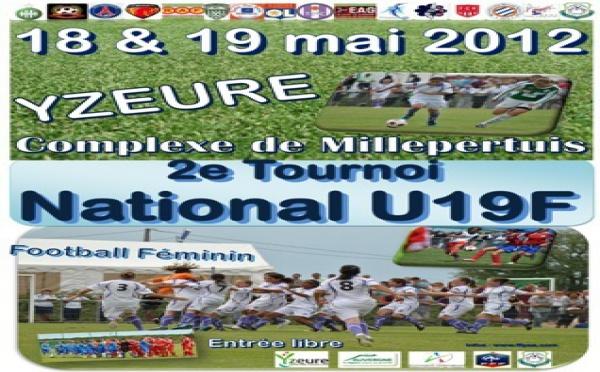 2e Tournoi National U19F à Yzeure : J-1 mois !