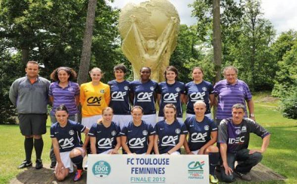 MOZAIC FOOT CHALLENGE Crédit Agricole - Le TOULOUSE FC très offensif