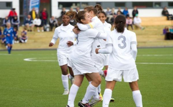 U16 - La FRANCE écrase l'ISLANDE (4-0)
