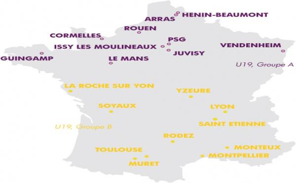 U19 - Les groupes de la saison 2012-2013