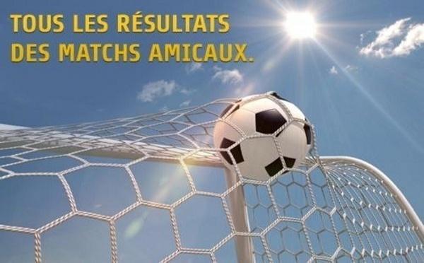 Matchs amicaux (D1, D2) - Programme et résultats