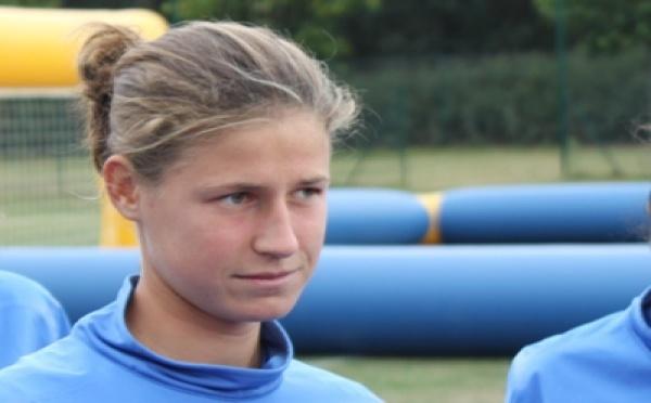 """U17 - Noémie CARAGE : """"On est prêtes à y aller"""""""