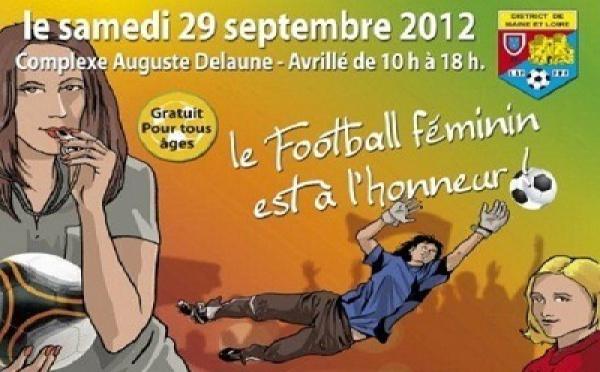 Maine-et-Loire - Journée 100% football féminin samedi