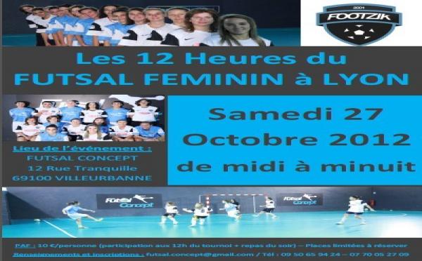 LYON Footzik - Les 12h du futsal féminin à Lyon