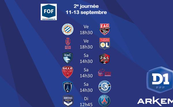 #D1Arkema - J2 : Trois matchs ce samedi, les groupes