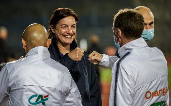 Bleues - Corinne DIACRE prolongée en secret jusqu'à l'Euro 2022