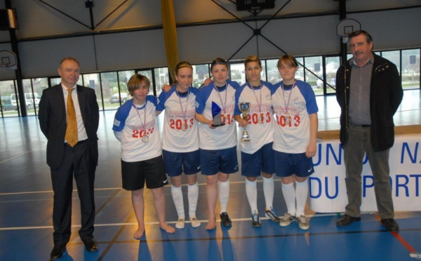 UNSS - Yzeure champion de France futsal juniors