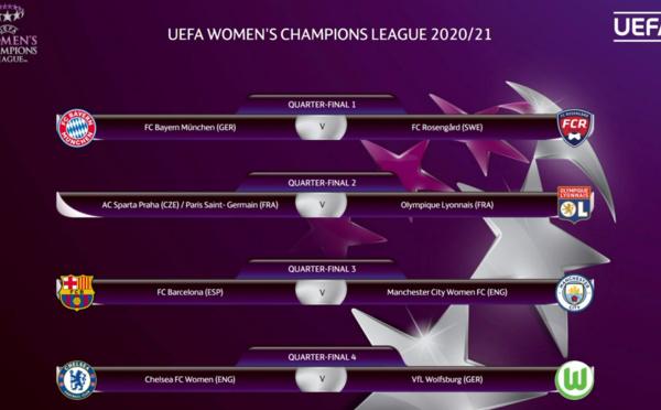 Ligue des Champions - Le PSG et l'OL croiseront leur chemin dès les quarts