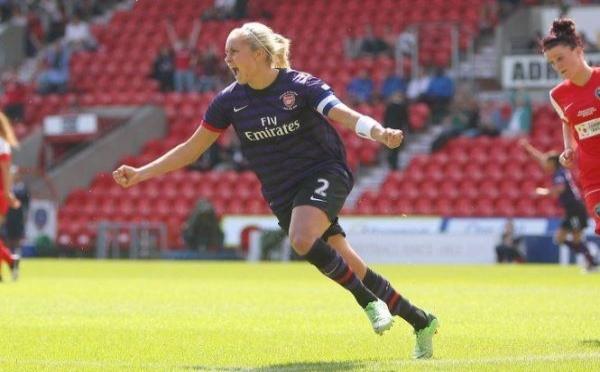 Angleterre - Douzième Cup pour les Ladies d'ARSENAL
