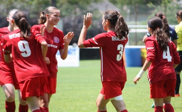 Coupe Nationale U15F - RHÔNE-ALPES surclasse la BASSE NORMANDIE