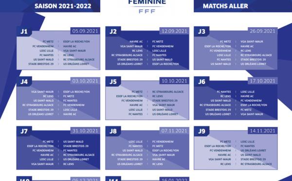 #D2F - Les calendriers des matchs sont connus