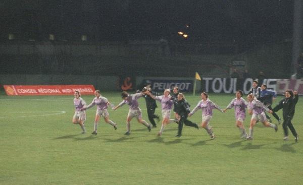 Ligue des Champions (Rétro) - Et TOULOUSE sortit ARSENAL au bout du suspense