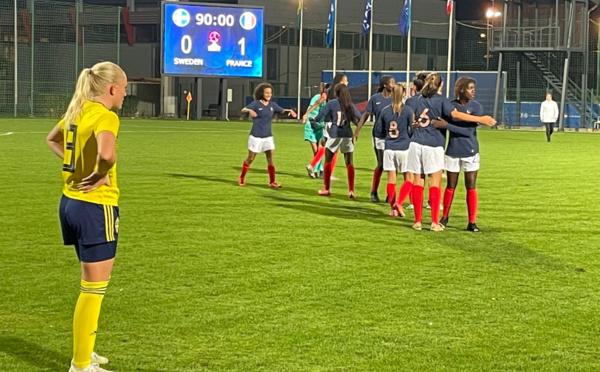 U19 - Une troisième victoire face à la SUEDE