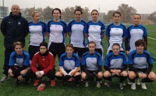 Universitaire - Belle victoire des filles de l'ASU BORDEAUX sur l'Université Paul Sabatier de TOULOUSE...