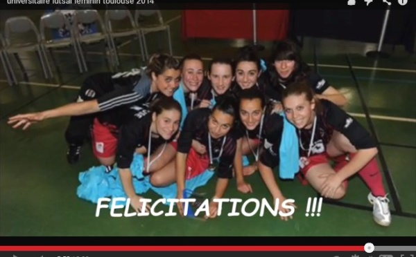 Championnat de France universitaire futsal - La vidéo du titre toulousain