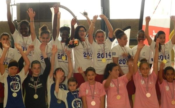 Championnat de France UNSS minimes filles - François VILLON de Paris champion !