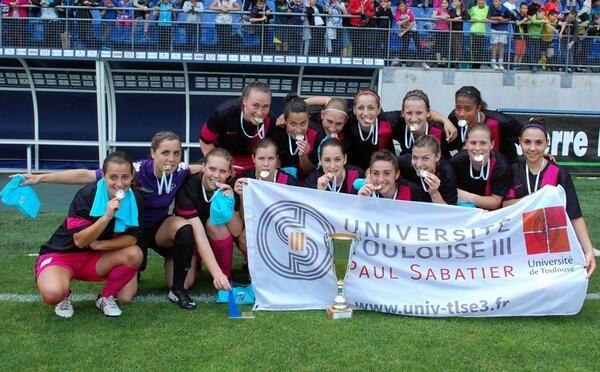 Championnat de France universitaire - L'Université Paul Sabatier de TOULOUSE championne