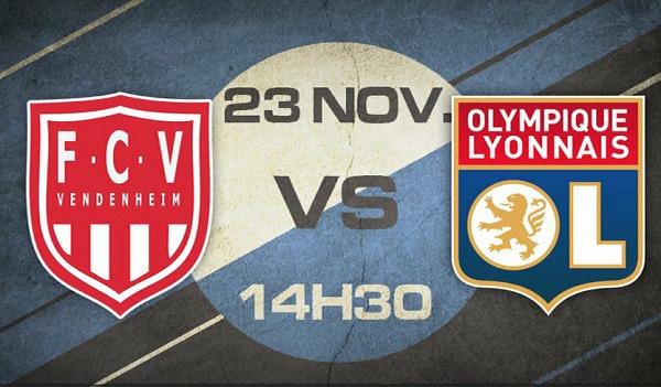 Footamateur TV - VENDENHEIM - LYON (U19) à suivre en direct vidéo (dimanche 14h30)