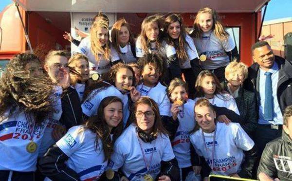 UNSS - Phase finale excellence à MONTPELLIER : Sacré Coeur ST BRIEUC/EAG champion de France