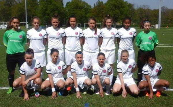 Coupe Nationale U15F (Groupe A) - BRETAGNE et RHONE ALPES qualifiés !