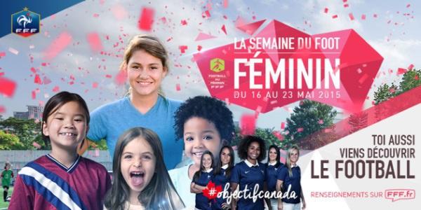 FFF - Quatrième édition de la semaine du football féminin