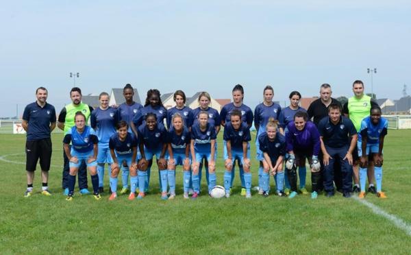 Avant FRANCE - BRESIL : au HAVRE AC, les filles jouent aussi au ballon